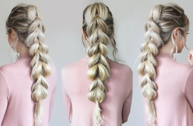 How to Make a Pull-Through Braid - 6 steps